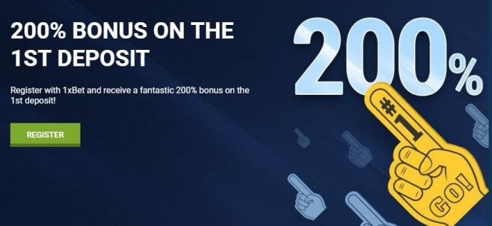 How to use 1xBet sign up bonus